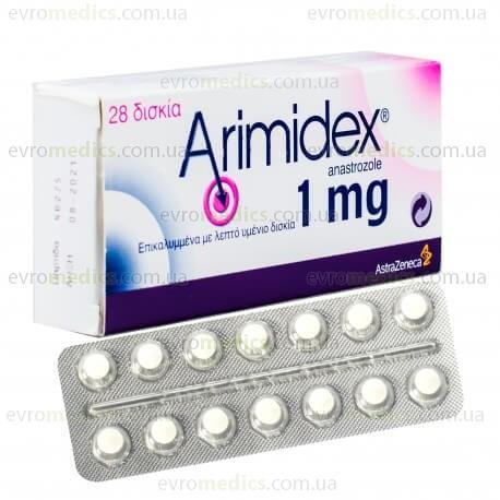 Аримидекс в Украине